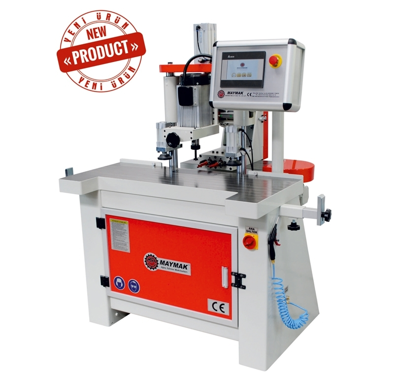 Door Lock Drilling Machine With Servo Motor (MAY D-600 S)